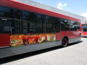 Lat. izq autobus EMT Valencia